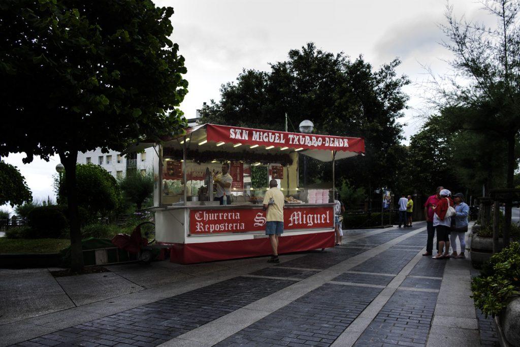 Churrería en Zarautz